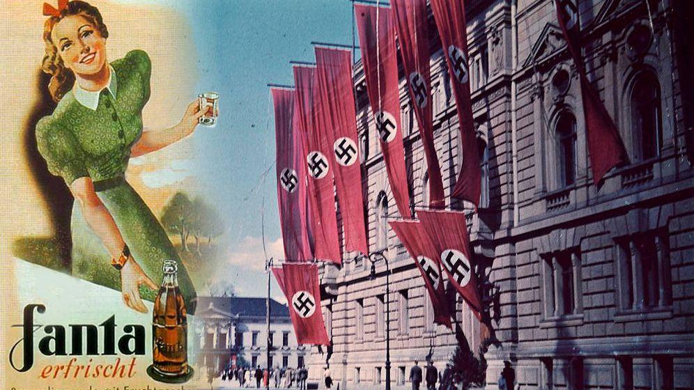 Foto: ¿Qué tiene qué ver el refresco con el régimen nazi? (Montaje: Carmen Castellón)