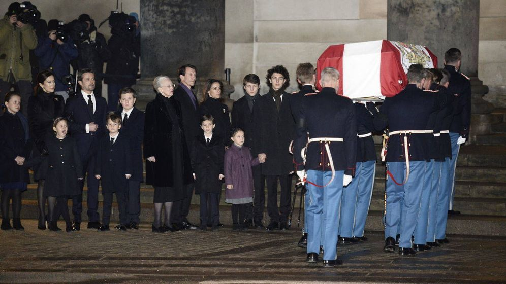 Foto: Los daneses dan su último adiós al príncipe Henrik de Dinamarca