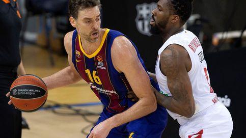 Veinte años después de irse a la NBA, Gasol vuelve a jugar con el Barça en Euroliga