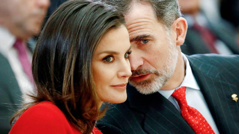 Felipe y Letizia, en una imagen de archivo. (EFE)