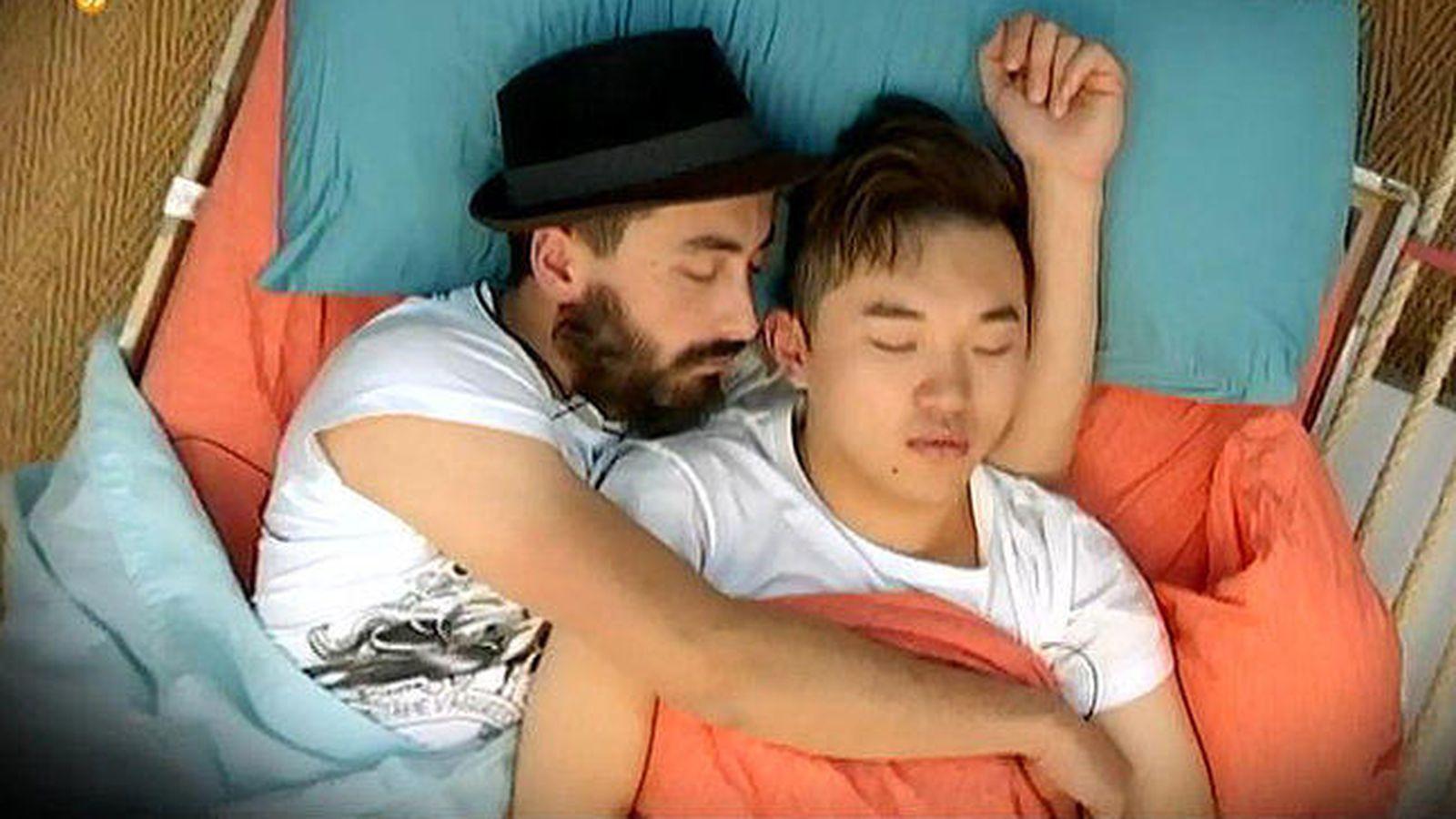 Foto: Han y Aritz, concursantes de 'Gran Hermano 16'.