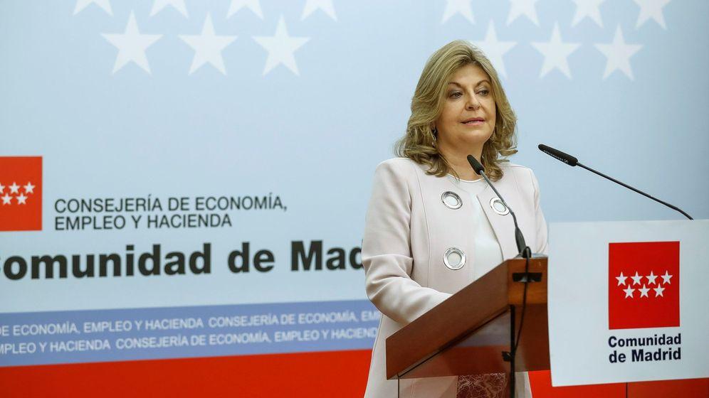 Foto: La consejera de Economía, Empleo y Hacienda en la Comunidad de Madrid, Engracia Hidalgo. (EFE)