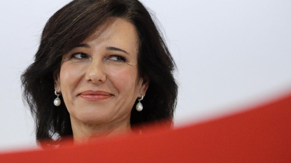 Foto: Ana Patricia Botín, presidenta de Banco Santander