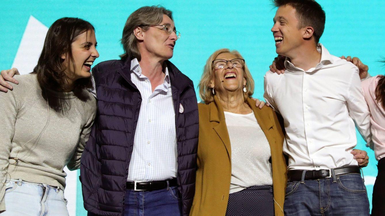 Los bloques de Errejón y Carmena chocan por la marca Más Madrid y por una deuda