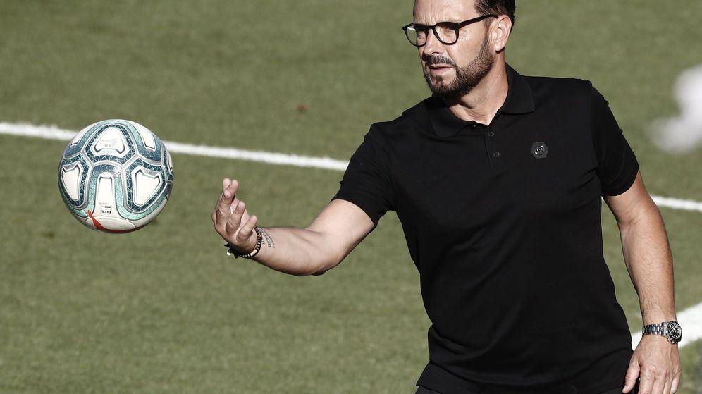 Foto: José Bordalás, entrenador del Getafe. (EFE)