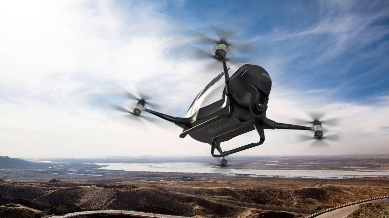 El dron de pasajeros de Ehang. (Ehang)