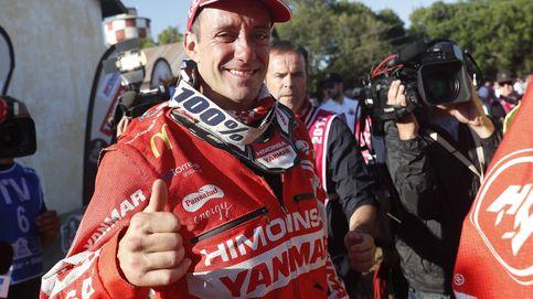 Farrés, de mochilero de Marc Coma a subir al podio con una moto no oficial