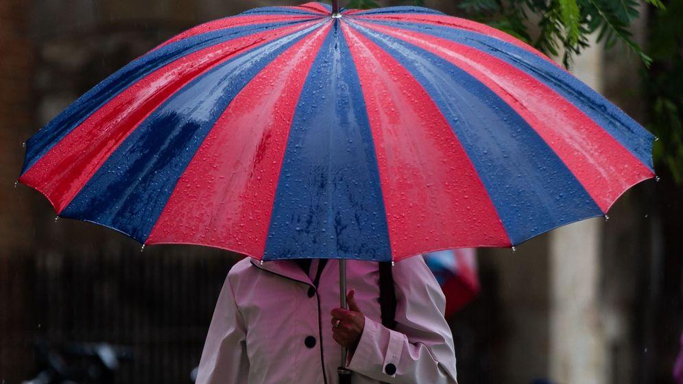Foto: Continúa la alerta por fuertes lluvias, aunque sin incidencias. (EFE)