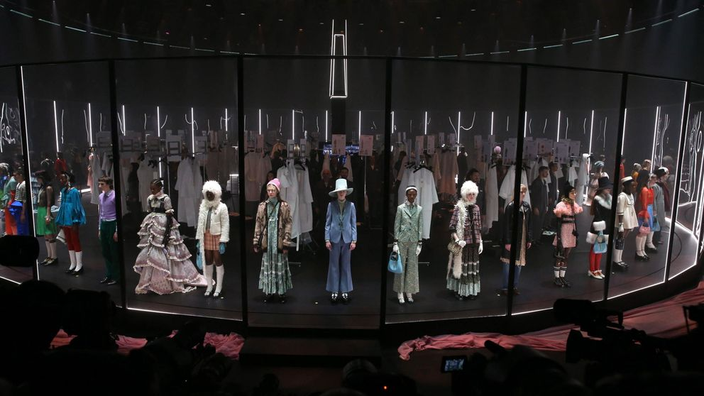 El desfile de Gucci te enseña las entrañas de la moda