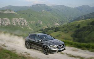 El Mercedes Clase A ya tiene su variante todocamino, el GLA