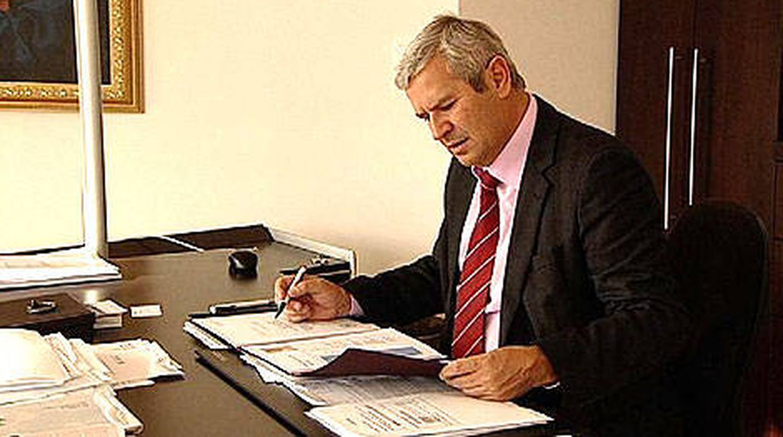 Harald Fischl, en su despacho