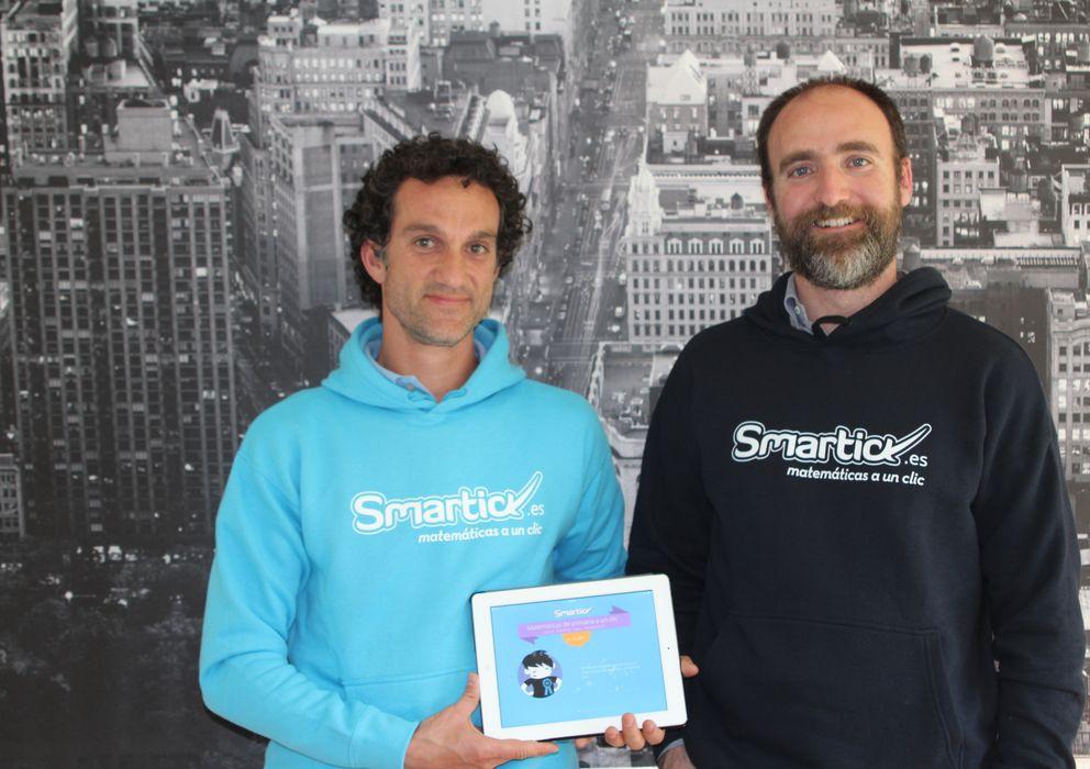 Foto: Javier Arroyo y Daniel González de Vega, fundadores de Smartick