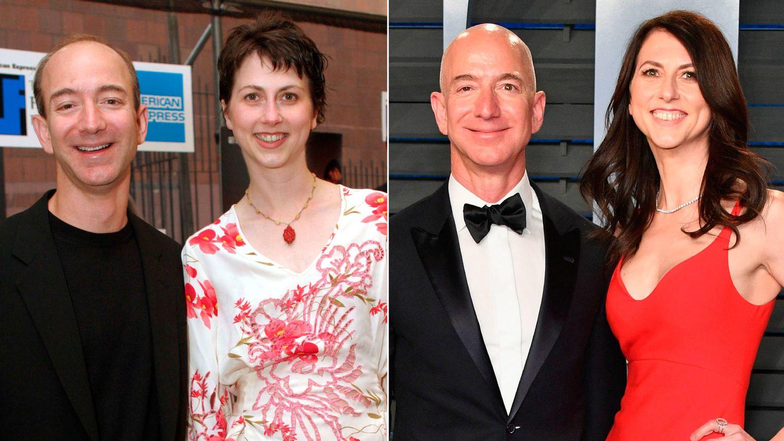 Foto:  Jeff y MacKenzie Bezos. (Vanitatis)