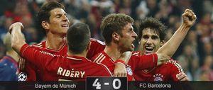 El Bayern Múnich aniquila y entierra al Barcelona en el Allianz Arena