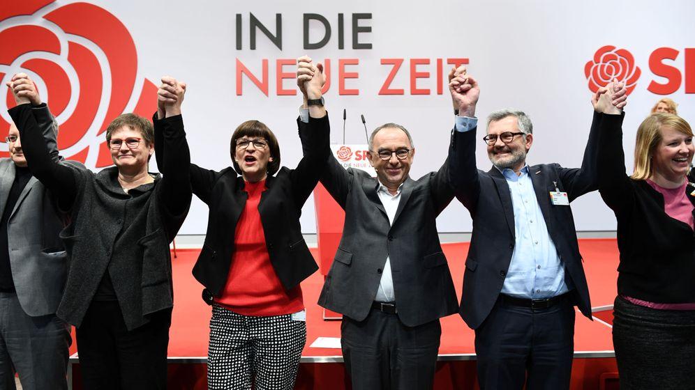 Foto: Congreso de los socialdemócratas alemanes en Berlín. (Reuters)