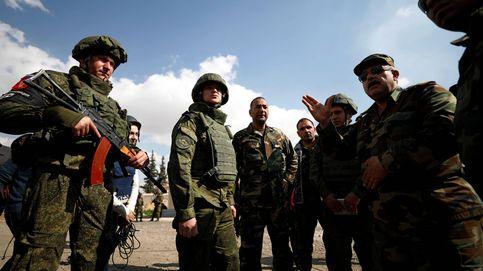 Las fuerzas rusas desplegadas en Siria