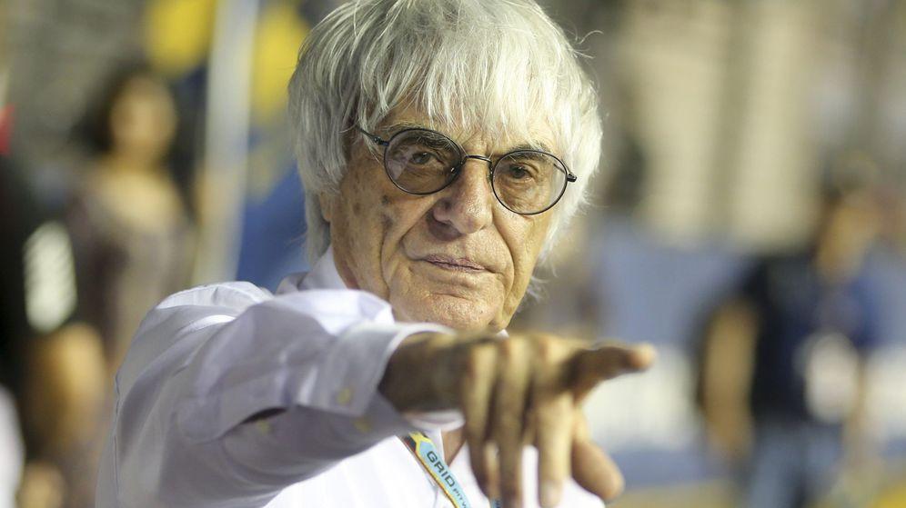 Foto: Bernie Ecclestone, exmáximo responsable de la Fórmula 1.