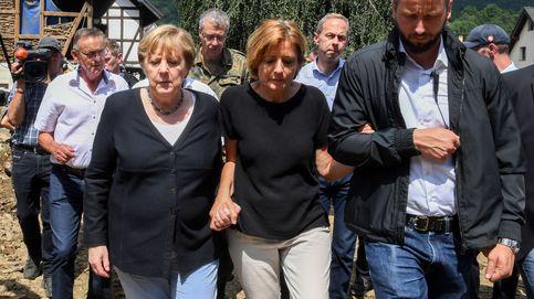 Merkel promete ayuda urgente ante las inundaciones que dejan 163 muertes en Alemania