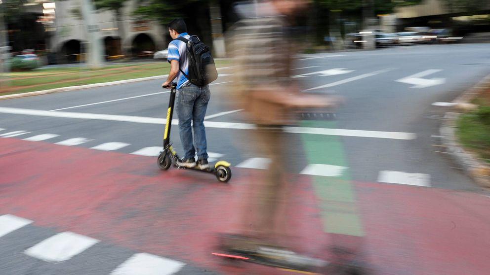 Detenido por robar un patinete eléctrico que abandonó metros después al no saber conducirlo