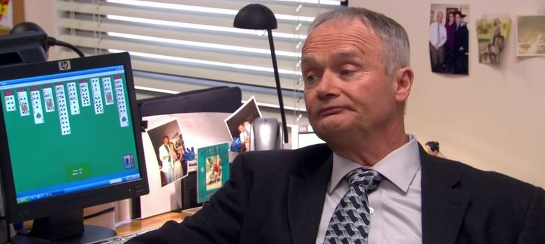 Foto: Creed Bratton, el responsable de control de calidad de la compañía Dunder Miflin, de la serie The Office, es el prototipo de empleado incompetente. (NBC)