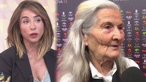 María Patiño se emociona con Benedicta Sánchez por su Goya