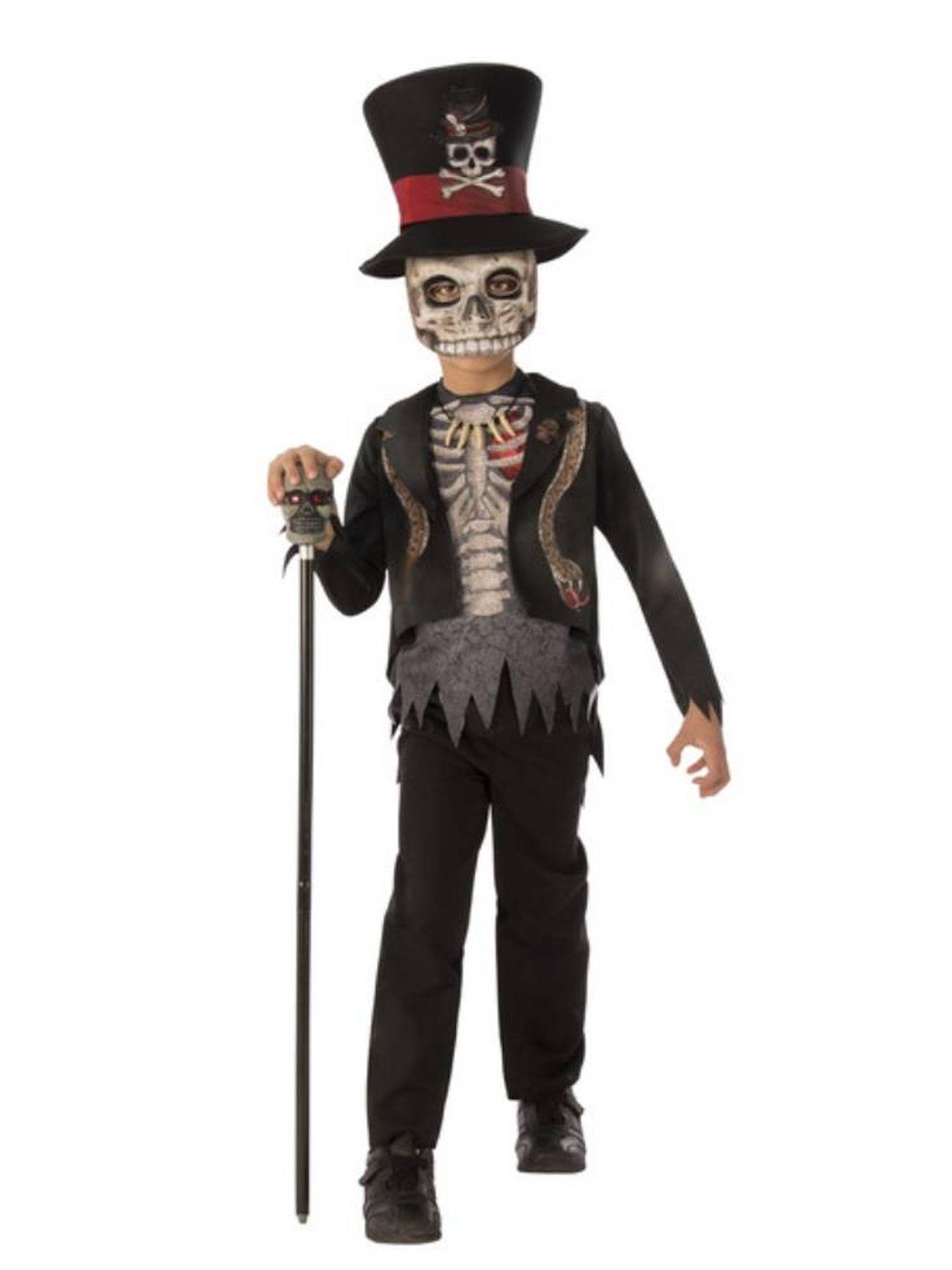 Otro modelo para Halloween de El Corte Inglés (24,99 euros).