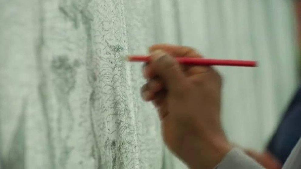 Un mural logra el récord Guinness a la superficie más grande del mundo dibujada a lápiz