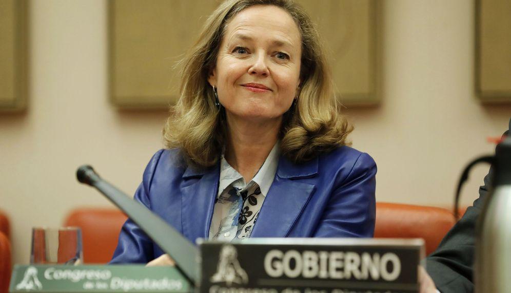 Foto: La vicepresidenta de Asuntos Económicos y Transformación Digital, Nadia Calviño. (EFE)