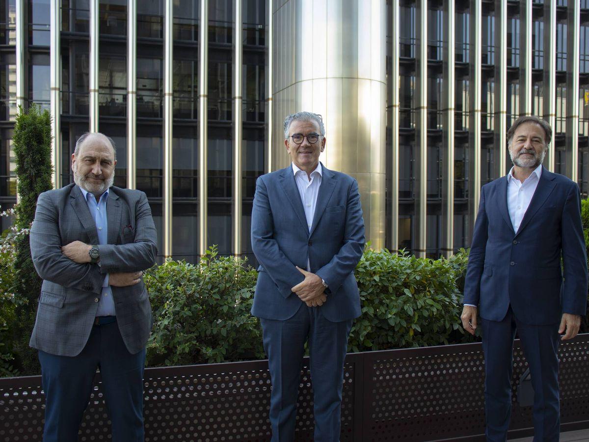 Foto: Javier Cantera, Juan Carlos Alcaide y Mario Alonso.