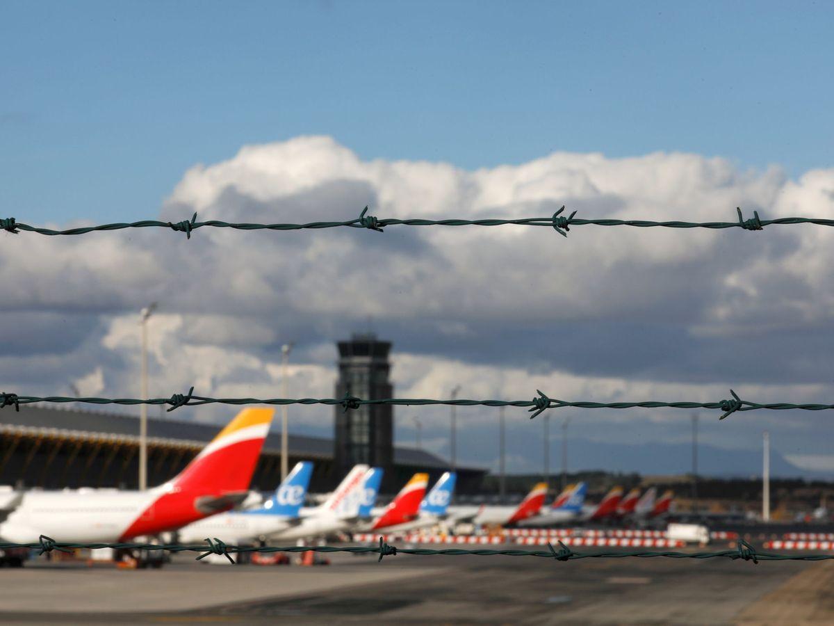 Foto: Aviones de Air Europa e Iberia. (Reuters)