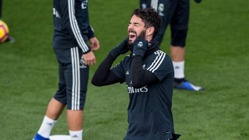La falsa tranquilidad de Solari con Isco en el Real Madrid