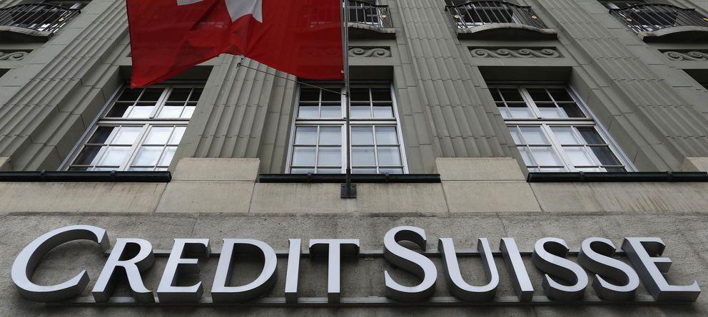Foto: Logo del banco Credit Suisse (Reuters)