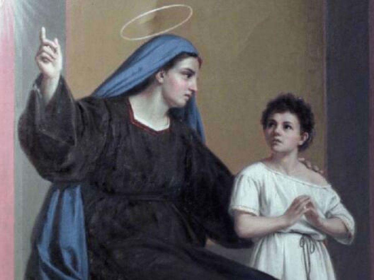 Foto: Santa Mónica, madre de San Agustín