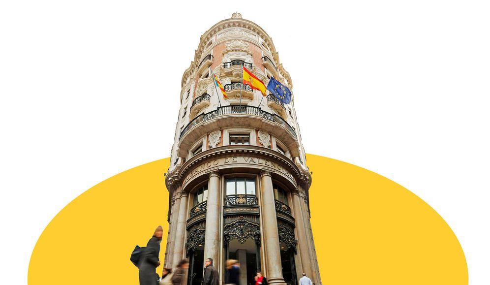 Foto: Sede del Banco de Valencia. (EC/EFE)