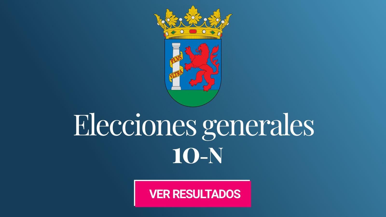 Foto: Elecciones generales 2019 en Badajoz. (C.C./EC)