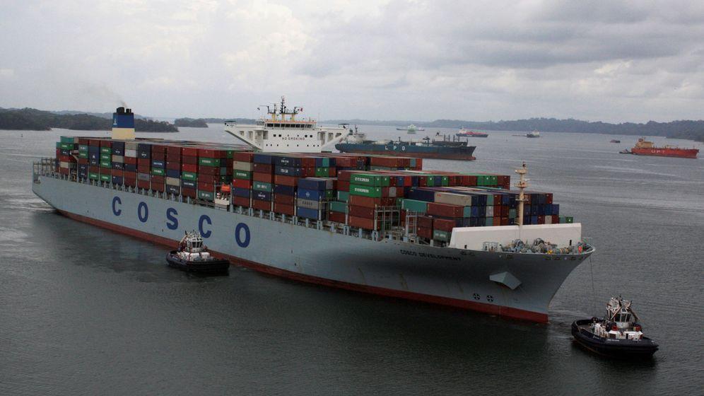 Foto: Un portacontenedores de la naviera estatal china Cosco. (Reuters)