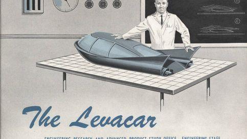 Sin ruedas y levitando: así se imaginaba el coche 'volador' hace medio siglo