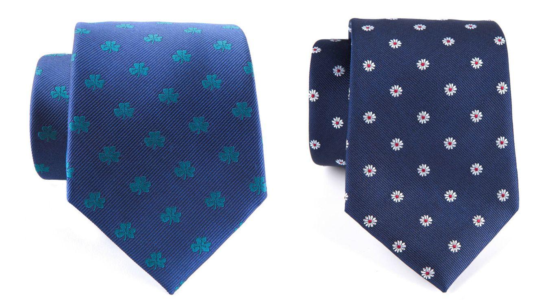 Foto: Dos corbatas de la colección de CloKing.