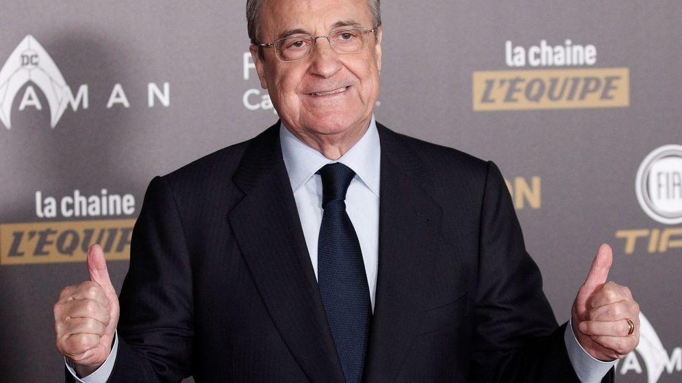 Foto: Florentino Pérez califica el crédito para el Bernabéu como la mayor operación financiera de su presidencia. (EFE)