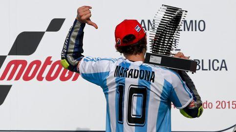 Rossi, el Maradona de las motos que dio a Márquez su propia medicina