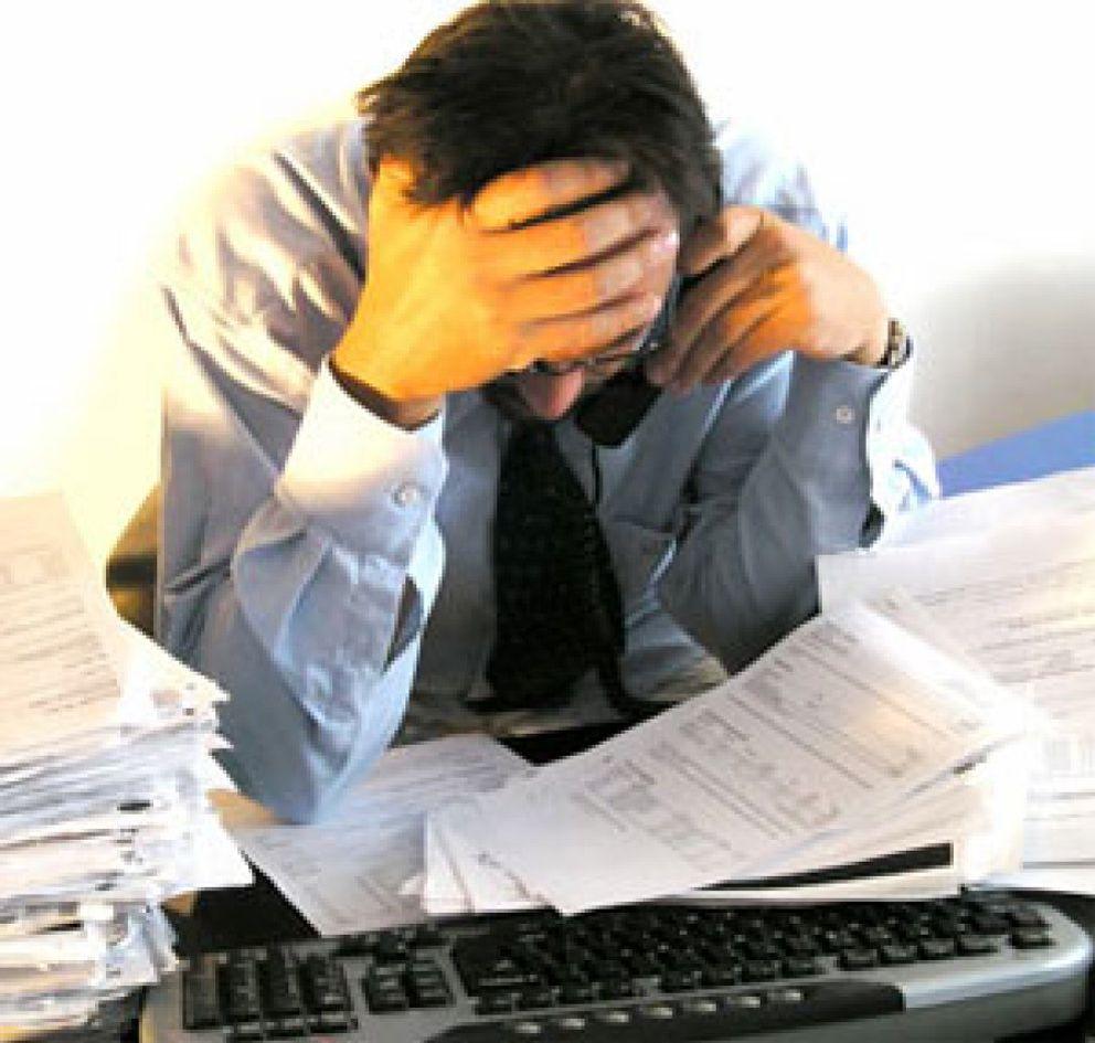 Foto: El estrés laboral afecta a uno de cada tres trabajadores y es la causa del 50% del absentismo