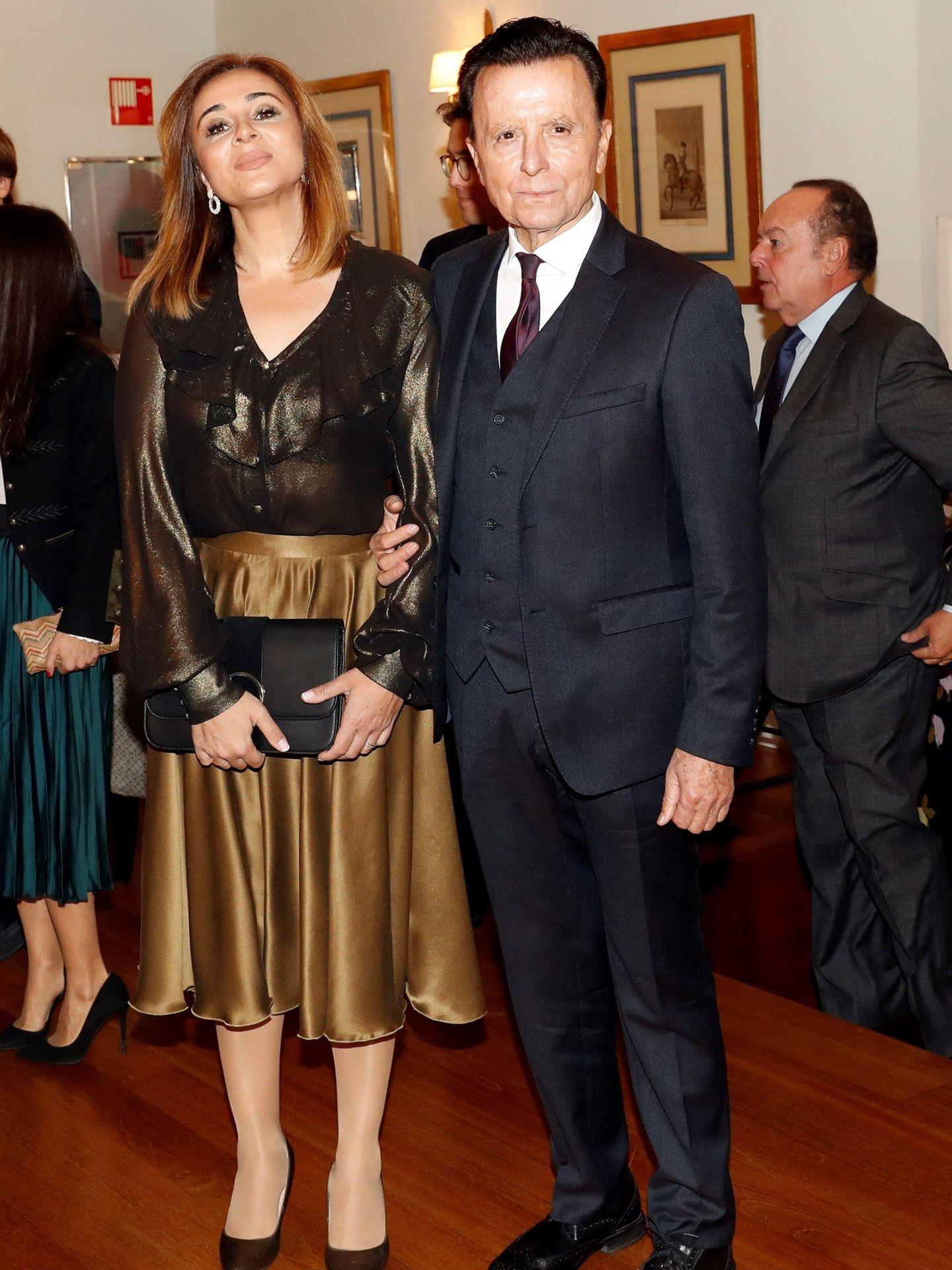 Con Ortega Cano, el pasado mes de noviembre. (EFE)