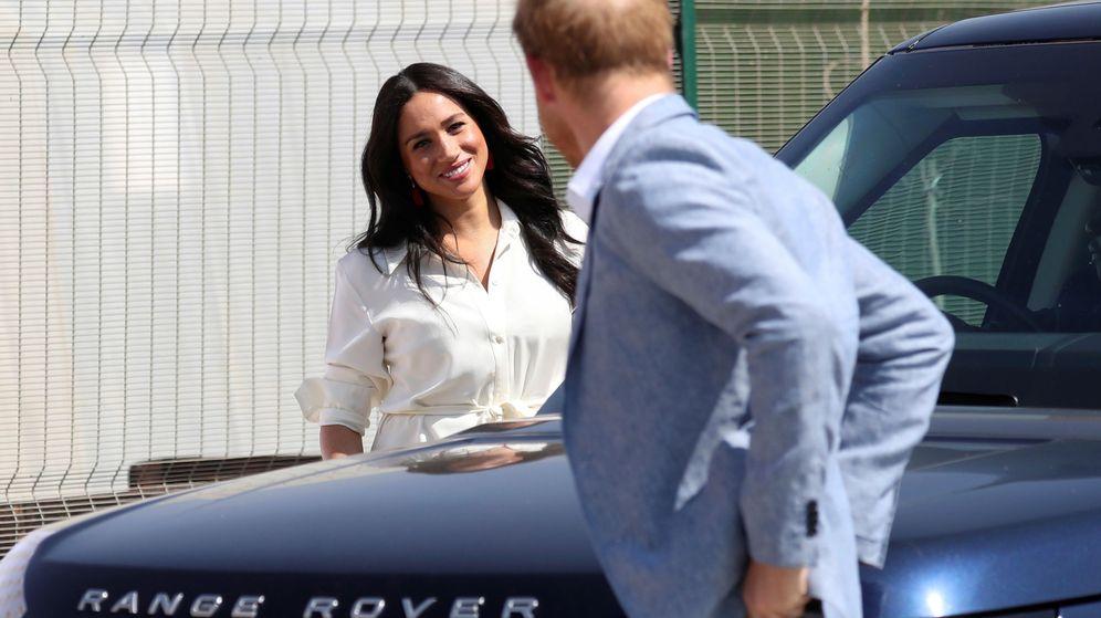 Foto: Meghan y Harry en una imagen de archivo. (Reuters)