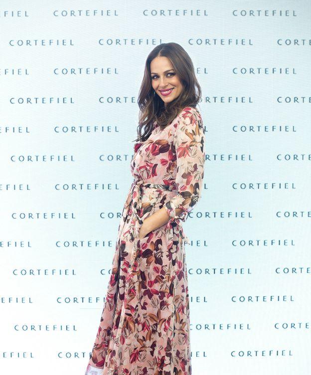 Foto: Eva González, en forma en su quinto mes de embarazo