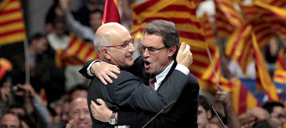 Foto: Fotografía de archivo de Josep Antoni Duran i Lleida (i) y Artur Mas. (EFE)