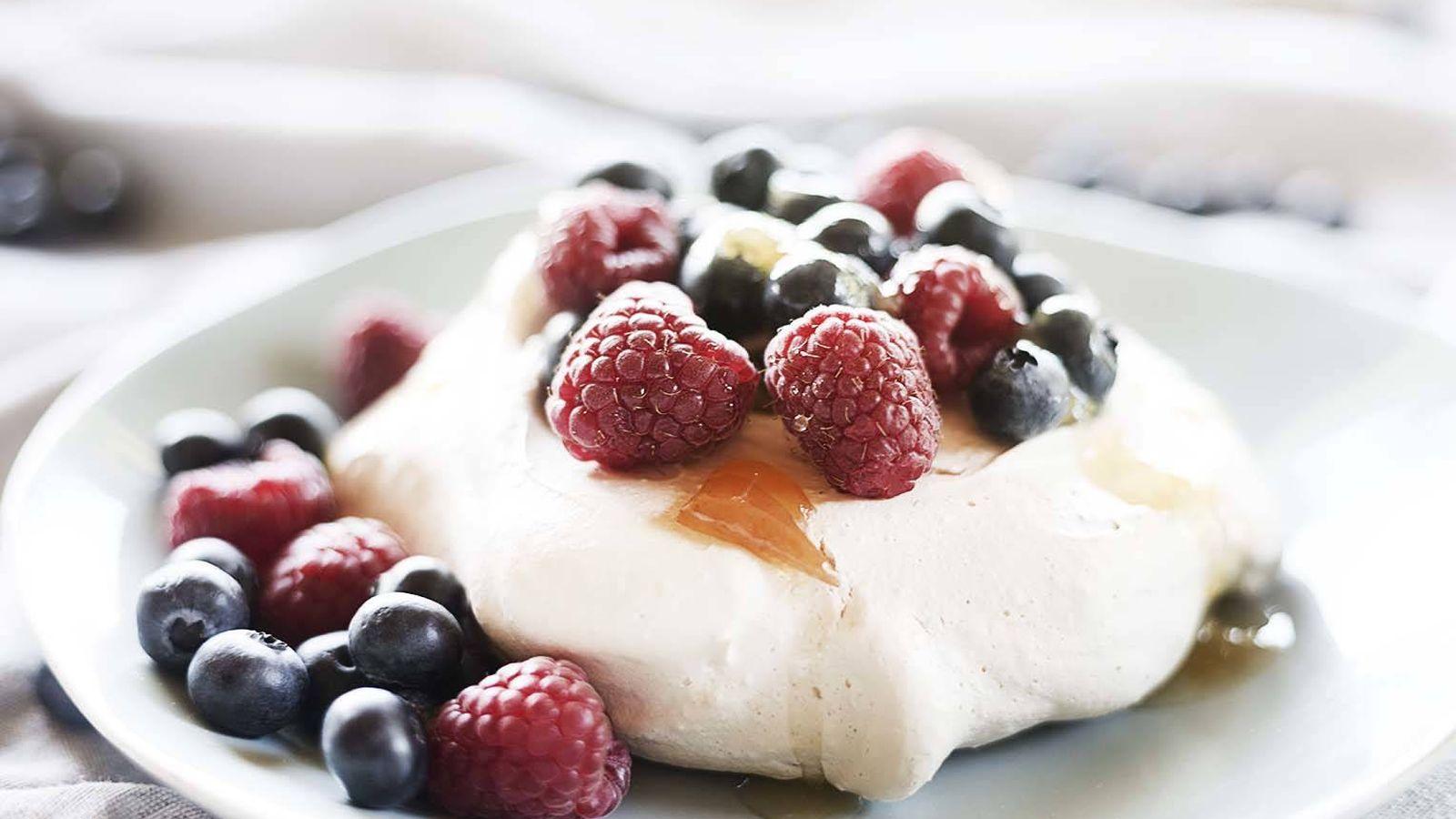 Foto: El merengue es la base de esta tartita crujiente. (Foto: Snaps Fotografía)