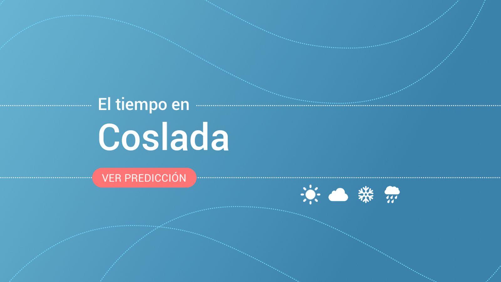 Foto: El tiempo en Coslada. (EC)