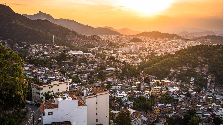 Paisaje de Río de Janeiro, una de las ciudades con mayor desigualdad del mundo. (iStock)