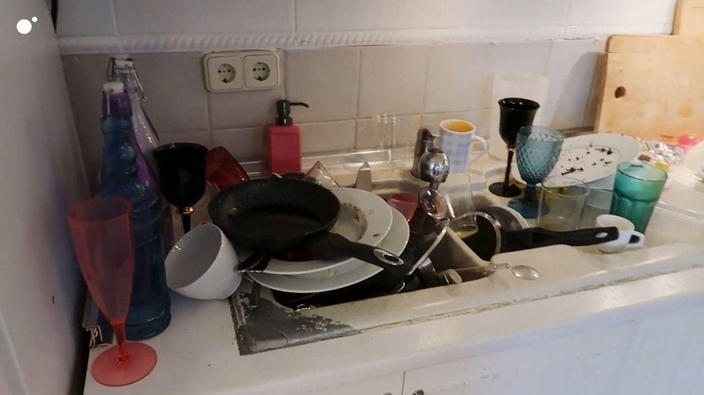 Suciedad en la cocina. (Mediaset)