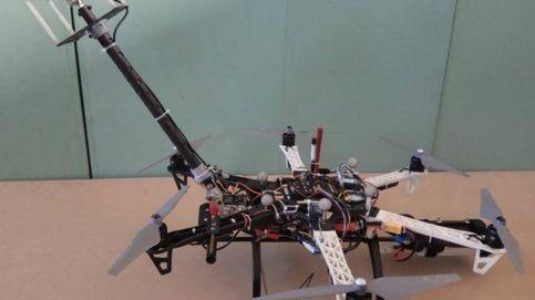 Diseñan en China un robot volador para el mantenimiento de rascacielos